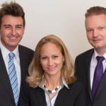Das Vita 34-Team für Österreich: Dr. Michael Feuchtmüller - medizinischer Fachberater, Mag. Monika Contardo - Kundenberaterin, Gernot Ehrlach - Geschäftsführer